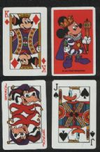 Collectible playing cards  Mickey Mouse, Disney court
